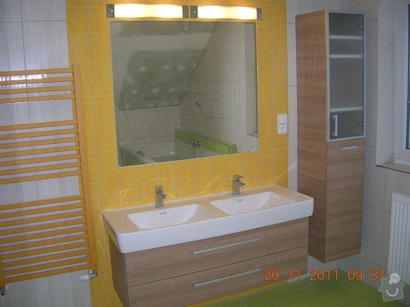 Obložení koupelny: DSCN4200