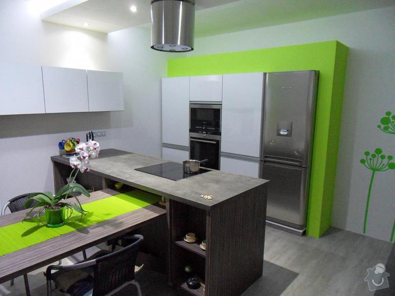Návrh a zhotovení kuchyňské linky, dodání včetně spotřebičů: 321512_2043950310320_1591245654_31599236_891797006_n