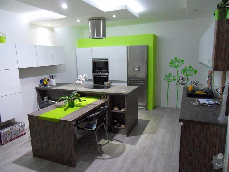 Návrh a zhotovení kuchyňské linky, dodání včetně spotřebičů: 375469_2043951070339_1591245654_31599240_1611909218_n