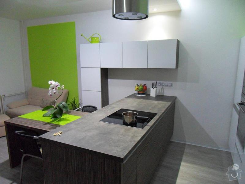 Návrh a zhotovení kuchyňské linky, dodání včetně spotřebičů: 384975_2043950030313_1591245654_31599235_1671172875_n