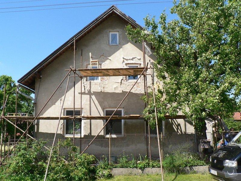 Fasáda na rodinném domku: P1070564