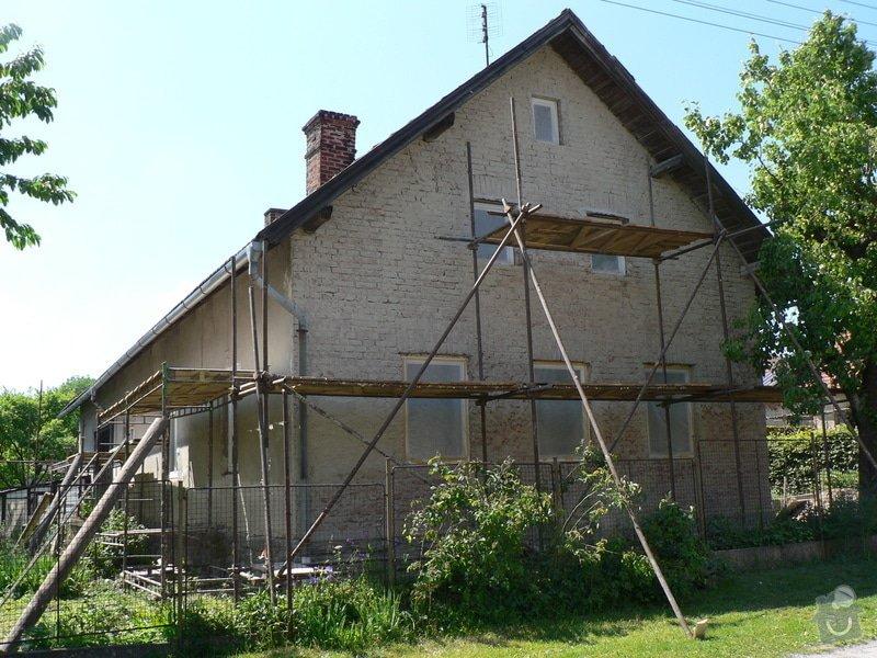 Fasáda na rodinném domku: P1070570