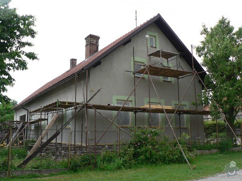 Fasáda na rodinném domku: P1070587