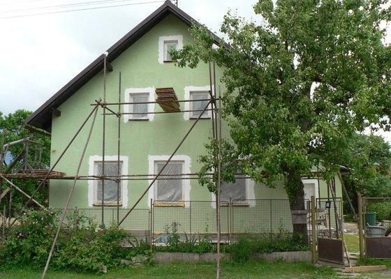 Fasáda na rodinném domku