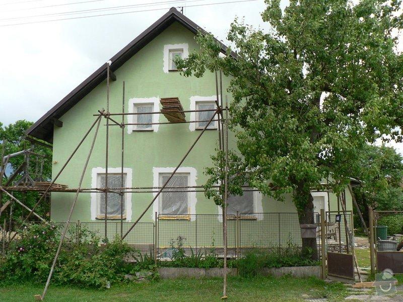 Fasáda na rodinném domku: P1070592