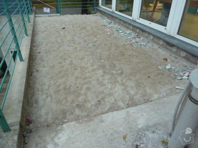 Rekonstrukce terasy: P1050786