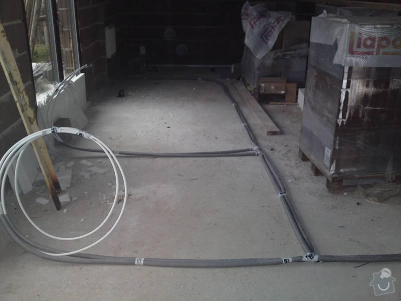 Topenářské práce, podlahové topení včetně položení a dopojení konvektorů: opt_03032011840