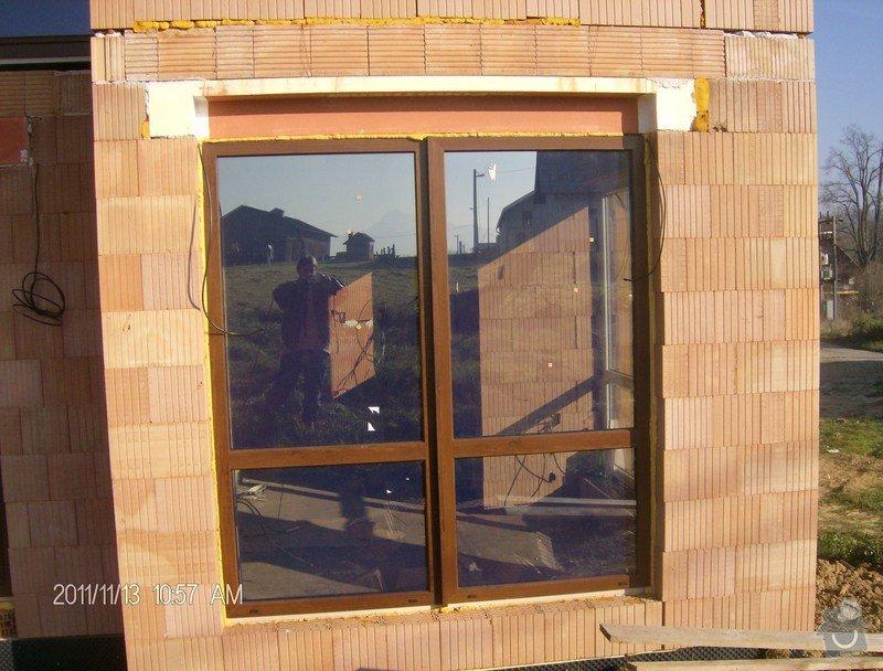 Plastová okna a vchodové dveře k RD: 2011_stavba_narozeniny2_001