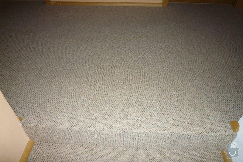 Obložení betonového schodiště + chodby dřevem: P1010521