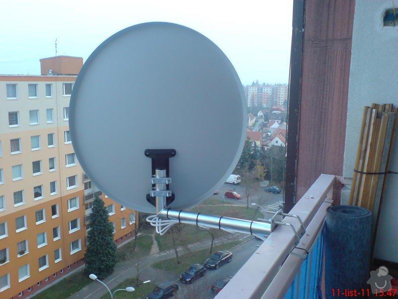 Montáž,zapojení a instalace satelitního kompletu pro 2 TV: DSC00152