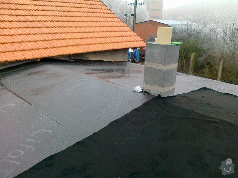 Izolace střechy na muzeum železnice Zbýšov: 23112011326