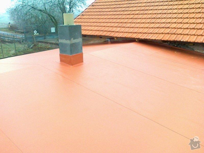 Izolace střechy na muzeum železnice Zbýšov: 23112011331