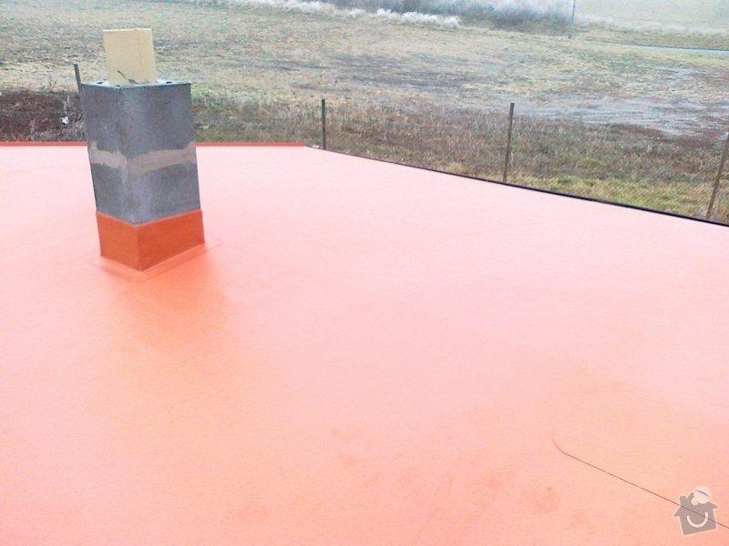 Izolace střechy na muzeum železnice Zbýšov: 23112011332