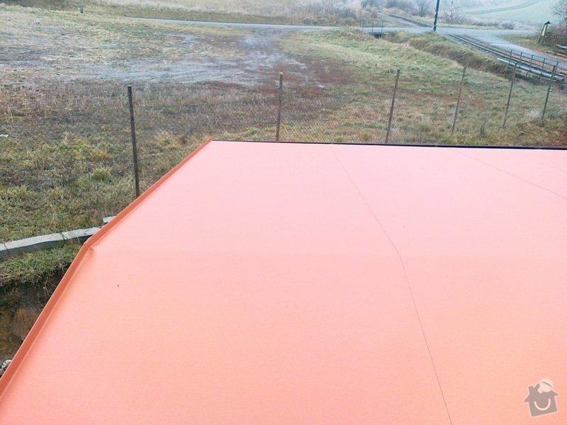 Izolace střechy na muzeum železnice Zbýšov: 23112011330