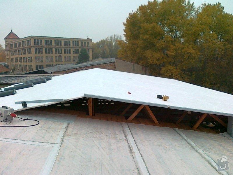 Izolace střechy pro firmu  ZH Euro Expo s.r.o. : 02112011291