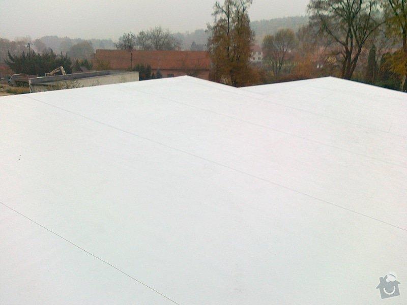 Izolace střechy pro firmu  ZH Euro Expo s.r.o. : 03112011293