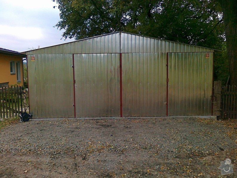 Plechová montovaná garáž: 07102010071