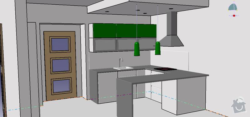 Dodávka a montáž pracovní kuchyňské desky + montáž obkladových panelů.: Kuchyne_2