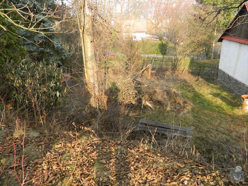 Dřevený chalupářský plot : DSCN1121