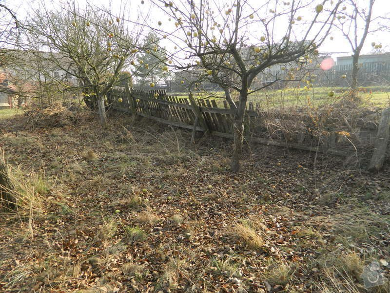 Dřevený chalupářský plot : DSCN1122
