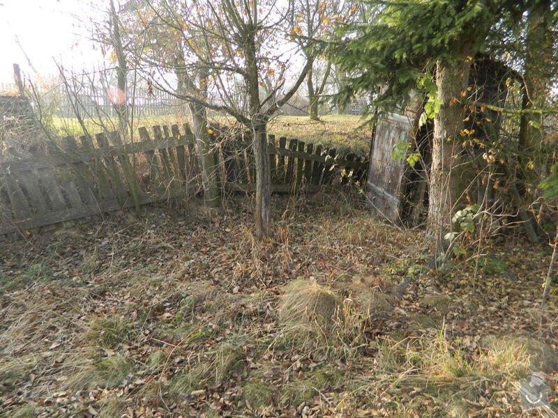 Dřevený chalupářský plot : DSCN1123