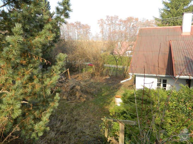 Dřevený chalupářský plot : DSCN1126