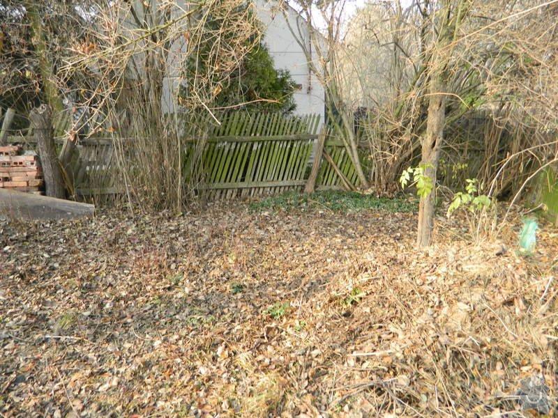 Dřevený chalupářský plot : DSCN1129