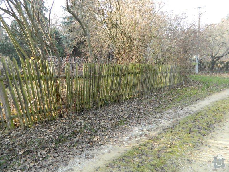 Dřevený chalupářský plot : DSCN1130