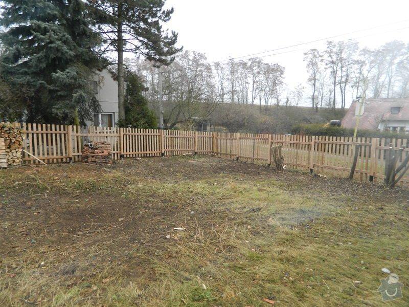 Dřevený chalupářský plot : DSCN1203