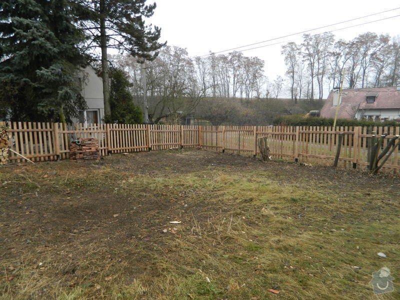 Dřevený chalupářský plot : DSCN1204