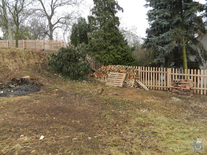 Dřevený chalupářský plot : DSCN1205