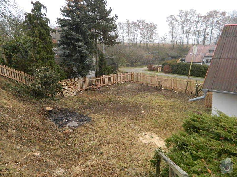 Dřevený chalupářský plot : DSCN1207