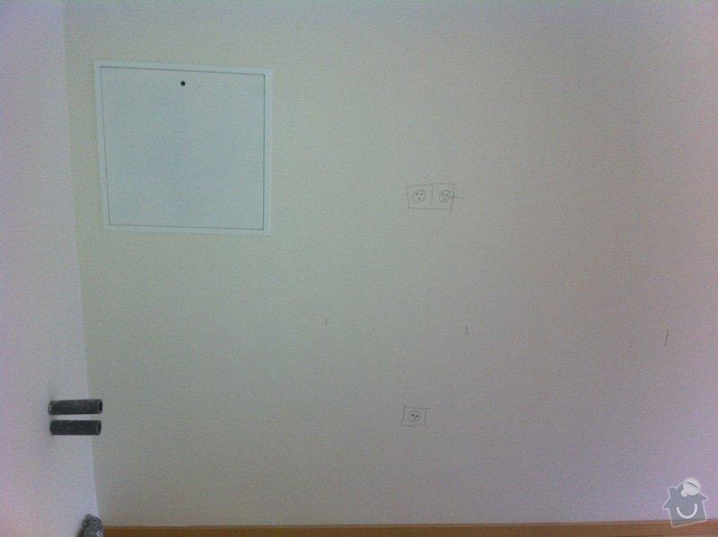 Dotažení elektřiny v bytě - novostavba k připravované lince : IMG_1067