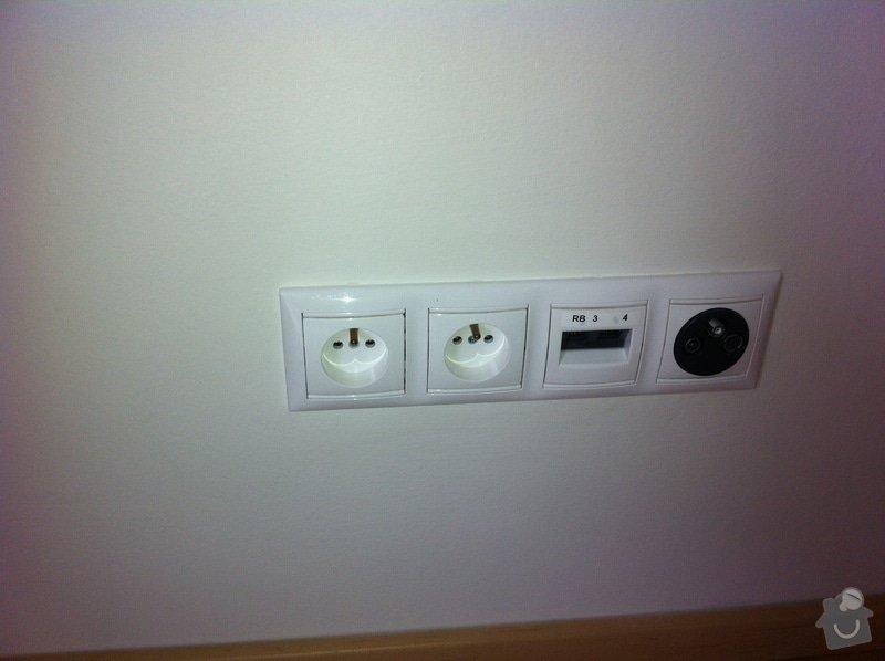 Dotažení elektřiny v bytě - novostavba k připravované lince : IMG_1070
