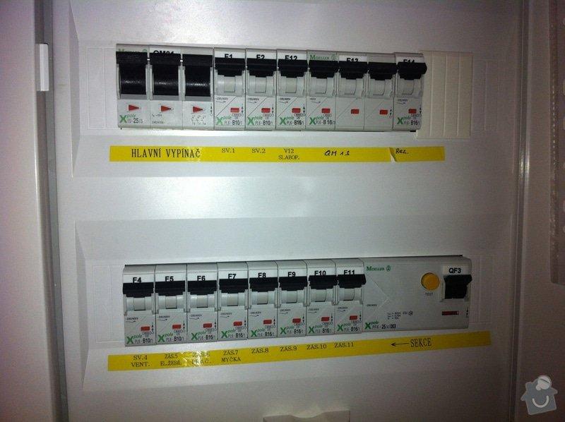 Dotažení elektřiny v bytě - novostavba k připravované lince : IMG_1071