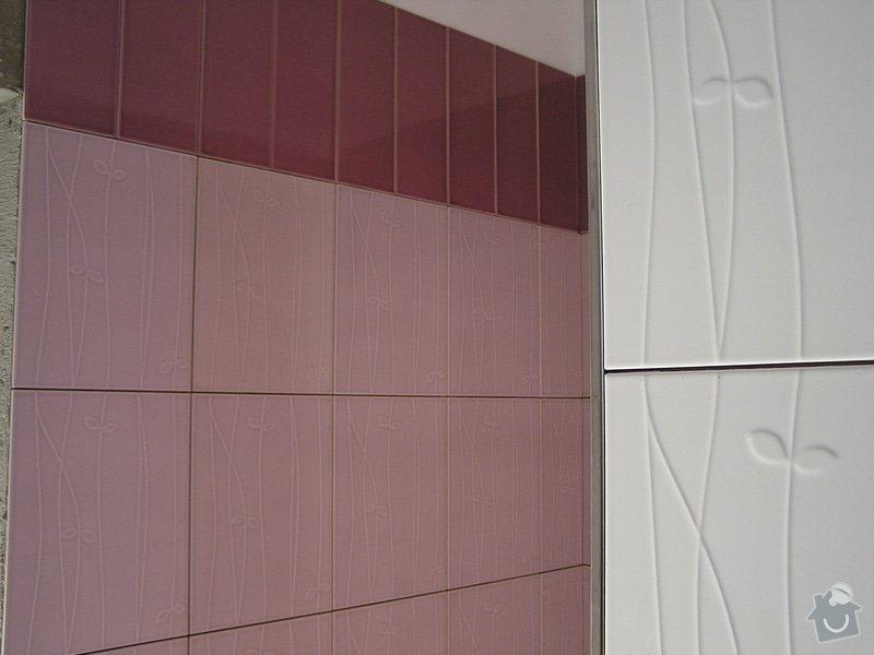 Výstavba dvou koupelen, položení podlah: 0414