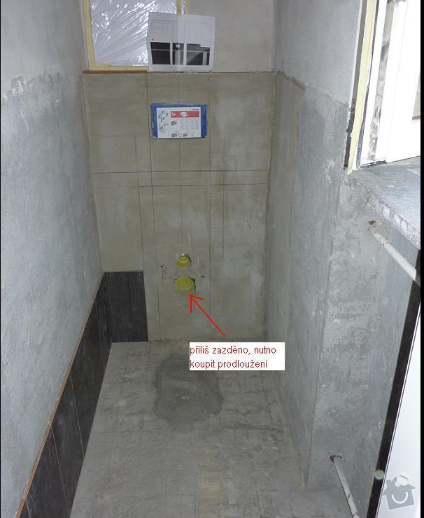 Kopmpletní rekonstrukce WC: 1