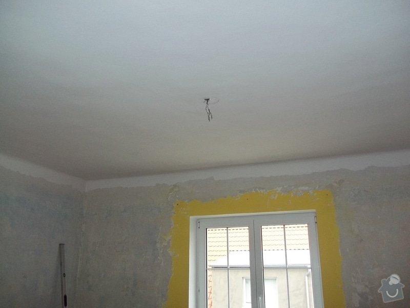 Snížení stropu Sádrokartonem se zateplením cca 20m2 Kladno: 104_1009