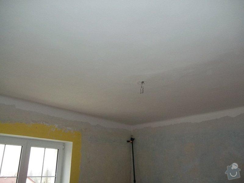 Snížení stropu Sádrokartonem se zateplením cca 20m2 Kladno: 104_1010