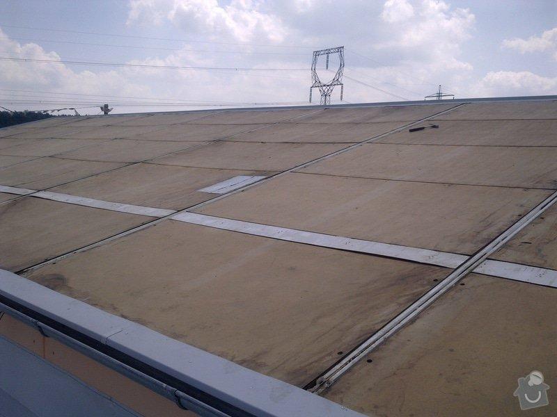 Izolace střechy A+V Autobazar Rosice,LAUKAR s.r.o: Obraz0214