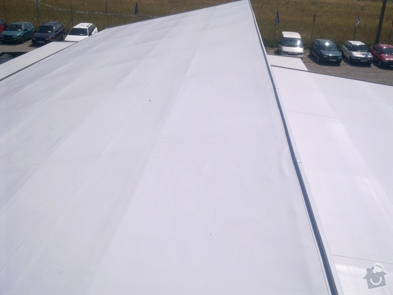 Izolace střechy A+V Autobazar Rosice,LAUKAR s.r.o: Obraz0218