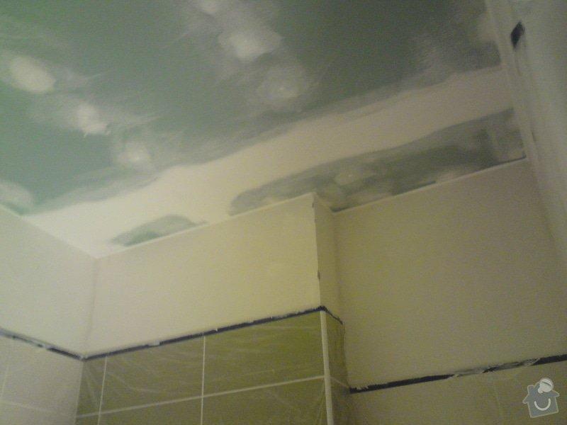 Zateplení a snížení podhledu  v bytě RD: DSC01372