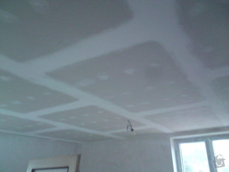 Zateplení a snížení podhledu  v bytě RD: DSC01373