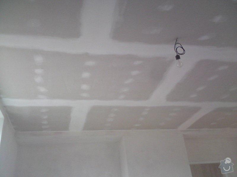 Zateplení a snížení podhledu  v bytě RD: DSC01375