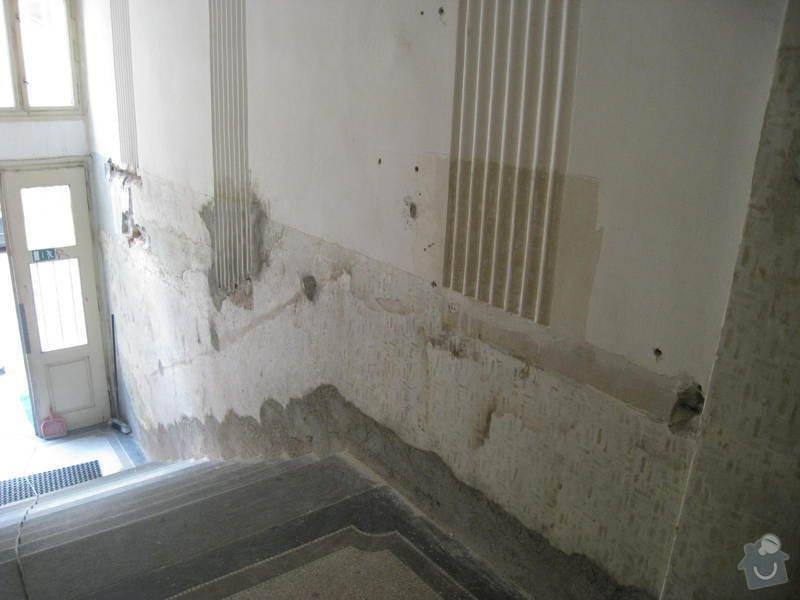 Výmalba a renovace zábradlí ve společných prostorách domu: 1
