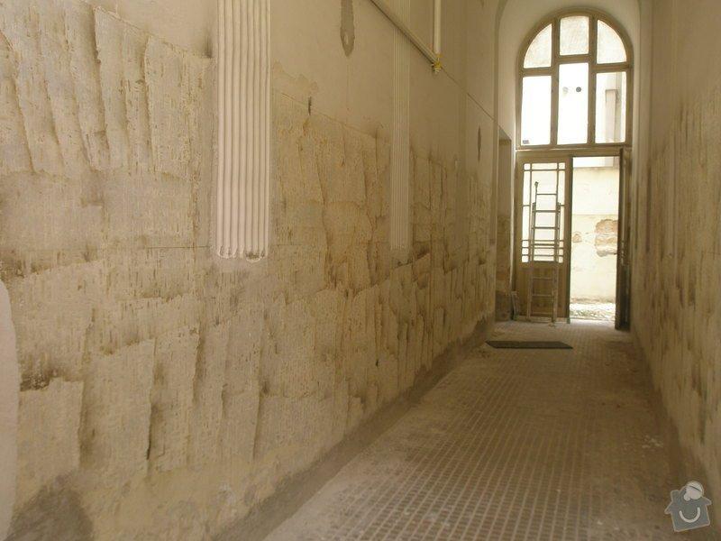 Výmalba a renovace zábradlí ve společných prostorách domu: 3