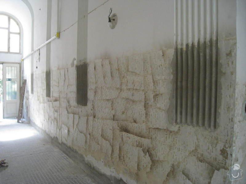 Výmalba a renovace zábradlí ve společných prostorách domu: 4