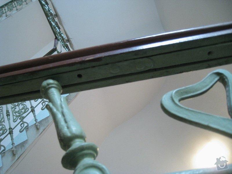 Výmalba a renovace zábradlí ve společných prostorách domu: 7