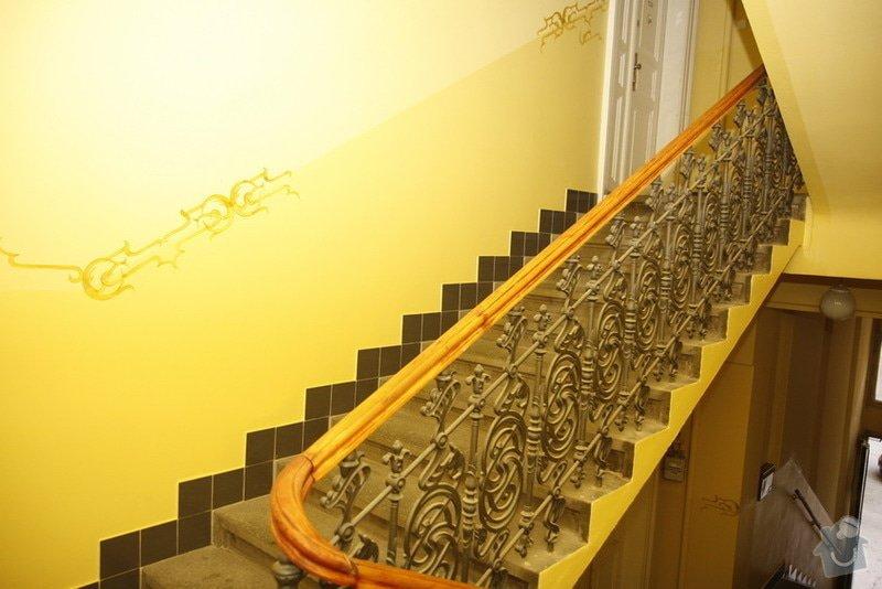 Výmalba a renovace zábradlí ve společných prostorách domu: _MG_7563