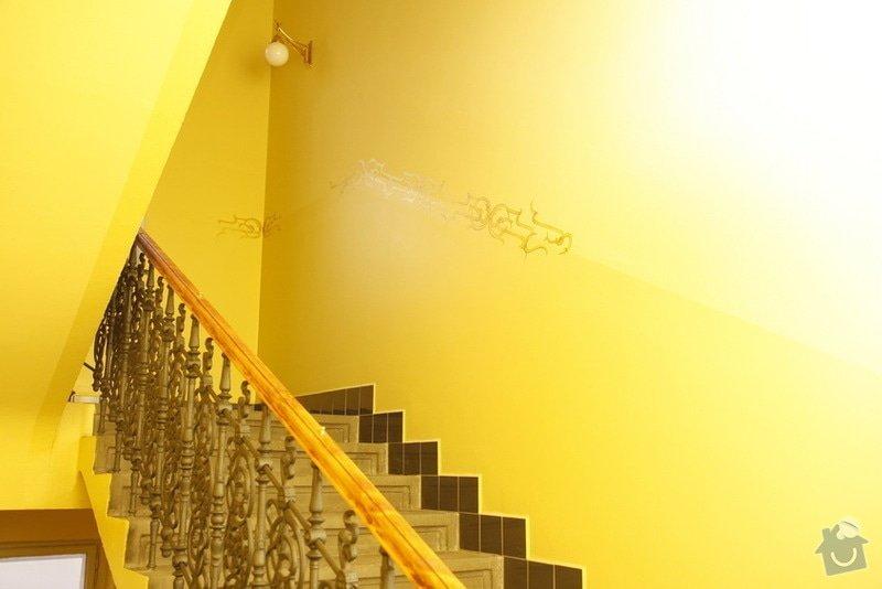 Výmalba a renovace zábradlí ve společných prostorách domu: _MG_7594